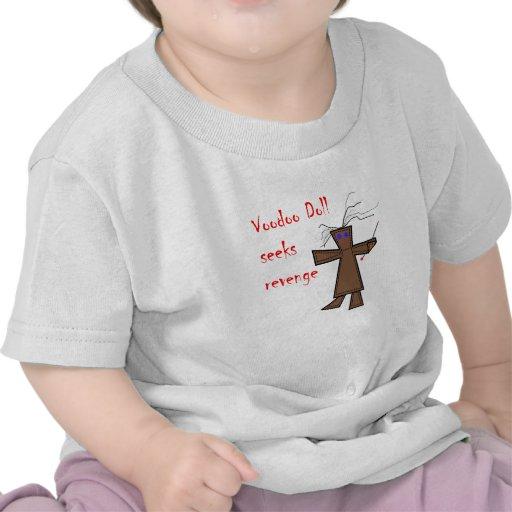 La muñeca del vudú busca venganza camisetas