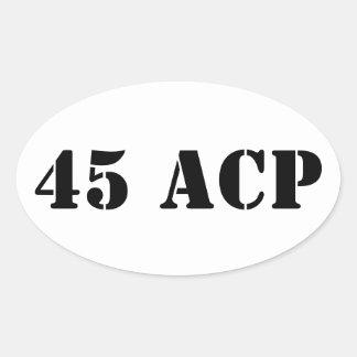 La munición de 45 ACP puede pegatina