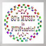 la música 80s es Funtastic Impresiones