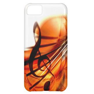 La música ató danza del destino del violín de los  funda para iPhone 5C