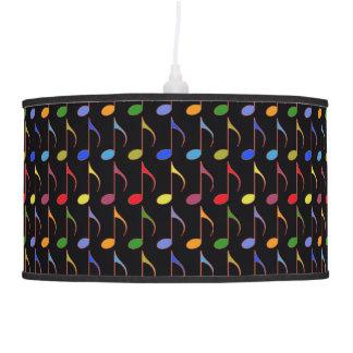 la música colorida observa el modelo lámpara de techo