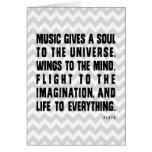 La música de Chevron da Felicitación