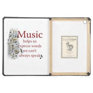 La música de la flauta nos ayuda a expresar el