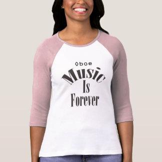 La música de Oboe es para siempre camisa de las