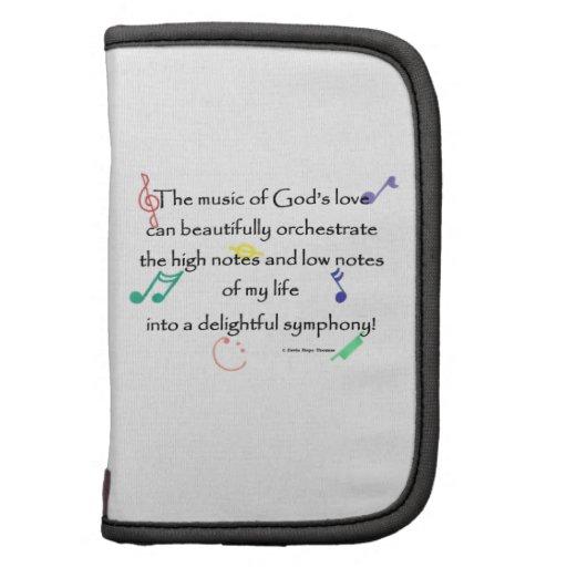 la música del amor de dios organizadores