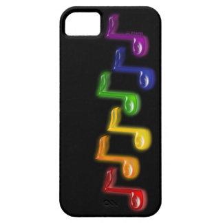 La música del arco iris observa el caso del iPhone iPhone 5 Case-Mate Cárcasa