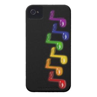 La música del arco iris observa la caja de la Case-Mate iPhone 4 fundas