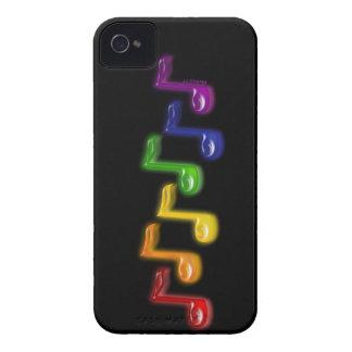 La música del arco iris observa las cajas funda para iPhone 4 de Case-Mate