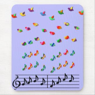 La música del KRW hace que los sueños toman vuelo Alfombrillas De Ratón