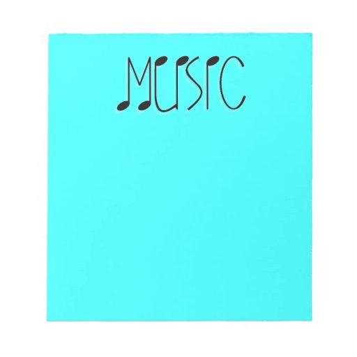 La MÚSICA del personalizar ProductMUSICTITLE01 OBS Blocs De Notas