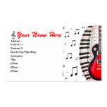 La música del teclado de piano de la guitarra obse
