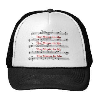 La música en mí… gorra
