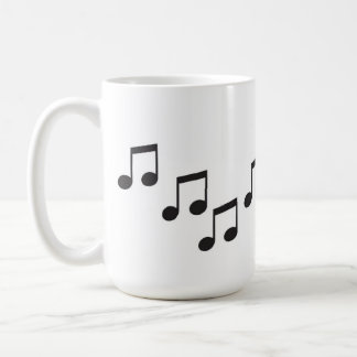 La música es como lo que suenan las sensaciones tazas