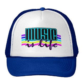 La música es gorra de la vida