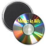 La música es imán de la vida