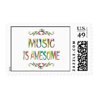 La música es impresionante sello