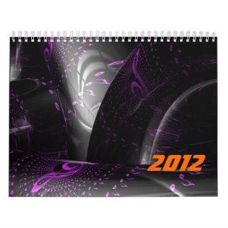 La música es la geometría púrpura (los espirales calendarios