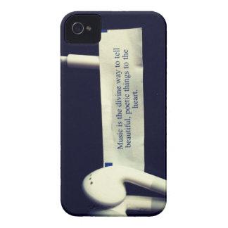 La música es la manera divina… iPhone 4 carcasa