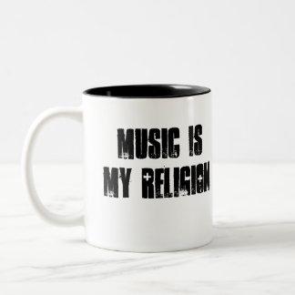 La música es la taza 2,0 de la religión