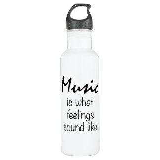 La música es lo que suena la sensación como la