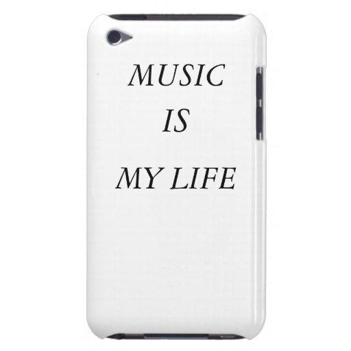 La música es mi casamata de IPod de la vida iPod Touch Protectores