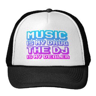 La música es mi droga - distribuidor autorizado de gorro de camionero