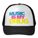 La música es mi droga gorra