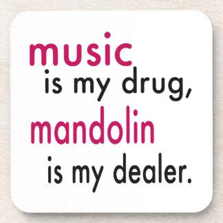 La música es mi droga, mandolina es mi posavasos