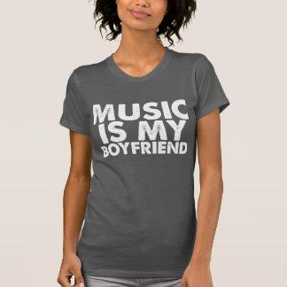La música es mi novio playera