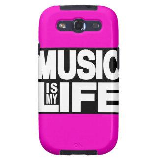 La música es mi rosa de la vida samsung galaxy SIII funda