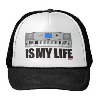 La música es mi vida gorro