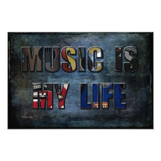 La música es mi vida fotografias