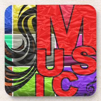 La música es mi vida posavaso