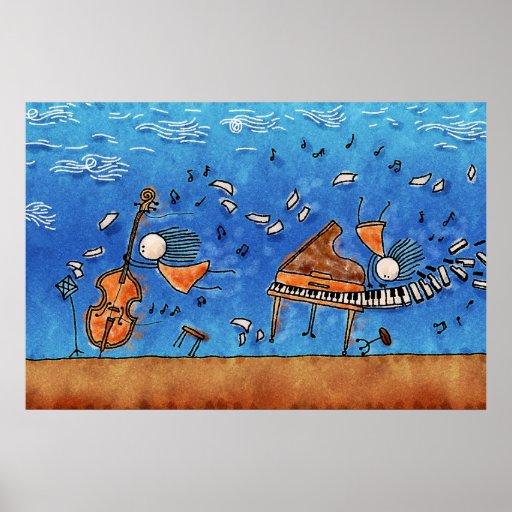La música es poder impresiones