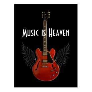 La música es postal del cielo