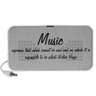 La música expresa… mini altavoz