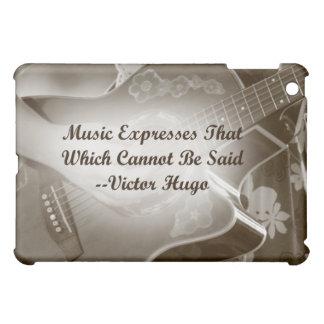La música expresa ese decir de la foto de la guita