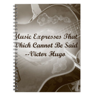 La música expresa ese decir de la foto de la guita libros de apuntes