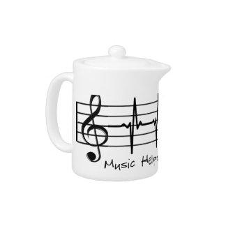 La música me ayuda a través