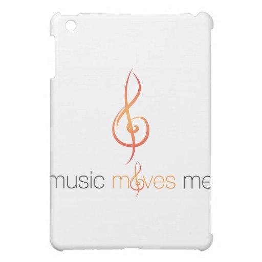 La música mueve caso del iPad de Me™ Hardshell/de