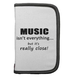 La música no es todo planificador