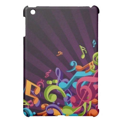 La música observa el caso duro del iPad de Shell
