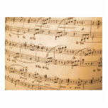 La música observa el fondo esculturas fotograficas