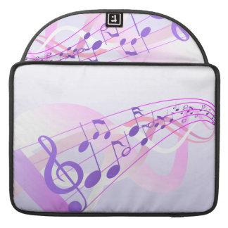 La música observa el fondo fundas macbook pro