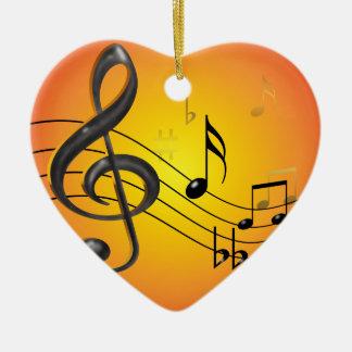 La música observa el ornamento ornamentos de reyes