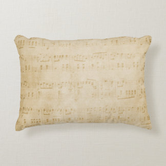 "La música observa la almohada 16"" del acento X12 "" Cojín Decorativo"