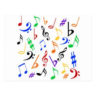 La música observa la postal - multi