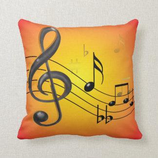 La música observa las almohadas de MoJo del
