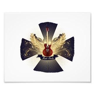 La música oscila el modelo azul guitar.png rojo fotos