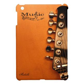 La música personalizada es vida con la cabeza de l iPad mini cárcasas